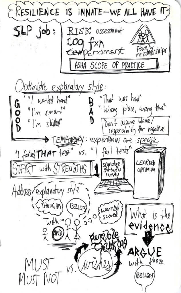 Resilience sketchnotes 2