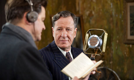 Image from the film The King's Speech