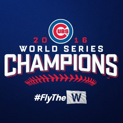 Cubs 2016 World Series Champions